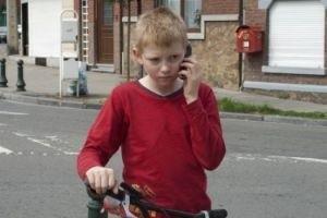Мальчик с велосипедом 15126