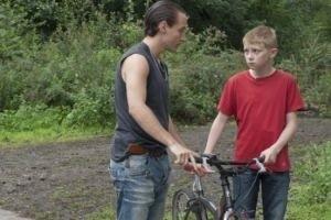 Мальчик с велосипедом 15124