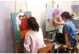 Мастер-класс по живописи акрилом на холсте 2
