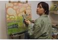 Мастер-класс по живописи акрилом на холсте 4