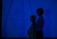 Флуоресцентная выставка. Нить 1