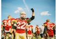 Американский футбол. Литвины — Рэбелс 2