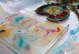 Семейный мастер-класс по живописи на воде «На одной волне» 2