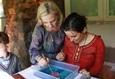 Семейный мастер-класс по живописи на воде «На одной волне» 3