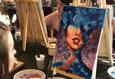 Мастер-класс по рисованию акрилом: «Девушка-океан» 1