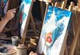 Мастер-класс по рисованию акрилом: «Девушка-океан» 3