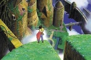 Небесный замок Лапута 3707
