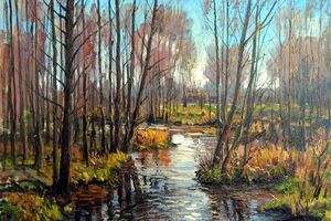 Выставка пейзажей 3905