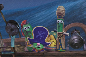 Приключения пиратов в стране овощей 4330