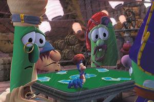 Приключения пиратов в стране овощей 4331
