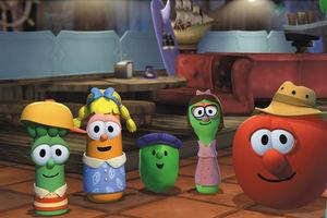 Приключения пиратов в стране овощей 4328
