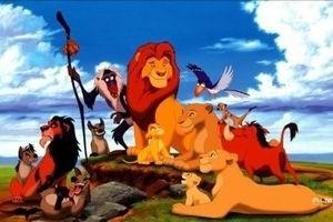 Король лев 3D 12693