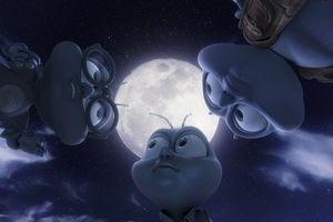 Мухнем на Луну 3D 2487