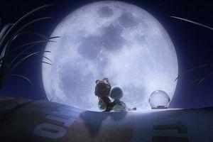 Мухнем на Луну 3D 2483