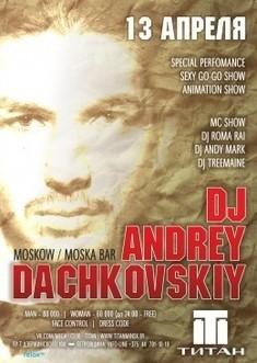 Dj Andrey Dachkovsky