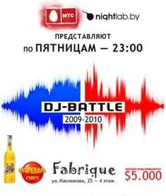 DJ-Battle 2009-2010. Week 26
