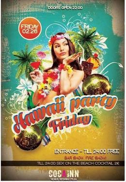 Hawaii Friday party
