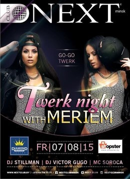 Twerk night with MARIEM