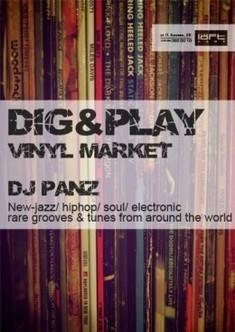 Dig&Play project: Vinyl Market