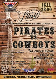 Pirates vs. Cowboys