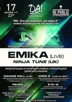 Emika (live) Ninja Tune (UK)