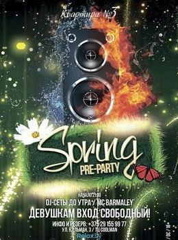 Spring pre-party