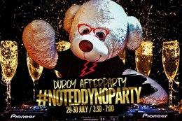 #NoTeddyNoParty