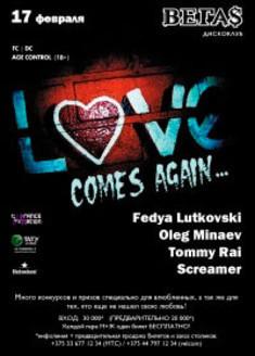Love comes again...