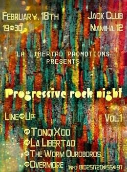 Progressive Rock Night