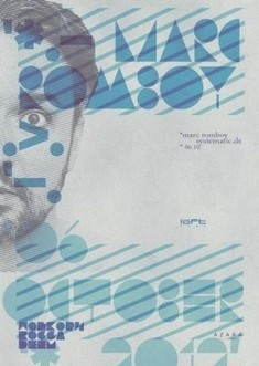Легенда мировой электронной сцены - Marc Romboy (Systematic Records, DE)