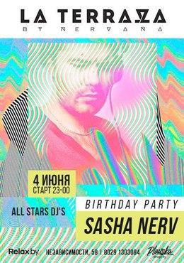 Sasha Nerv Birthday Party