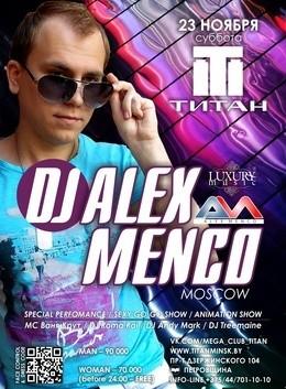 DJ Alex Menco (Moscow)