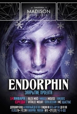 Закрытие проекта Endorphin
