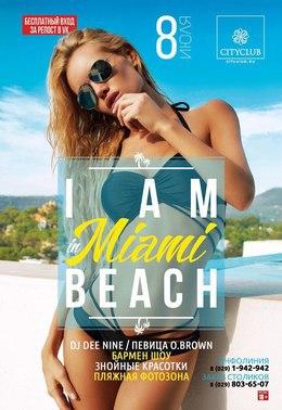 I am in Miami Beach