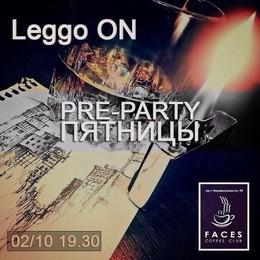 Pre party в FACESbar
