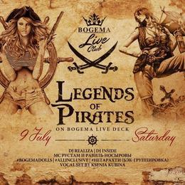 Legends Of Pirates