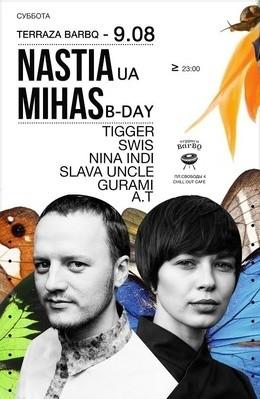 Dj Nastia \  Mihas B-Day