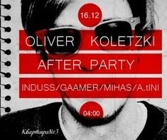 Afterparty Oliver Koletzki