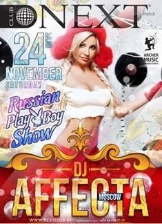 Dj AFFecta (Russia) & Play Boy show