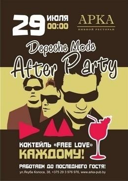 Depeche Mode Aftrer Party