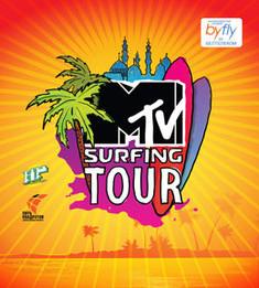 MTV Surfing tour