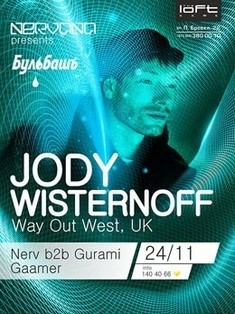 Nervana presents: Jody Wisternoff