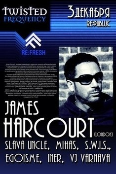 Twisted Frequency Fest: James Harcourt (London)