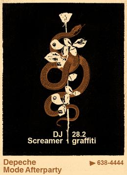 Depeche Mode Afterparty: DJ Screamer
