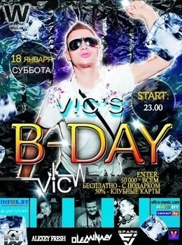 V!C's B-Day
