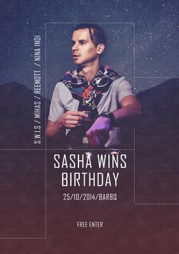 Sasha Wins B-day