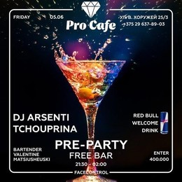 Pre Party в Про