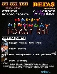 Trancenation and Happy Birthday Tommy Rai