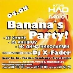 Banana's party!