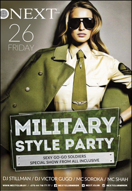 Military Style Party